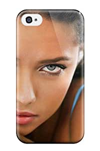 6272424K48258062 For Iphone 4/4s Protector Case Adriana Lima Phone Cover