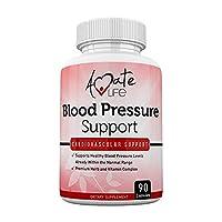 Lower Blood Pressure Health Formula - Natural Blood Pressure Pills Supplement with...
