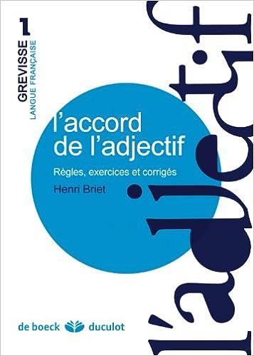 Descargar Google ebook store «L'accord De L'adjectif : Règles, Exercices Et Corrigés»