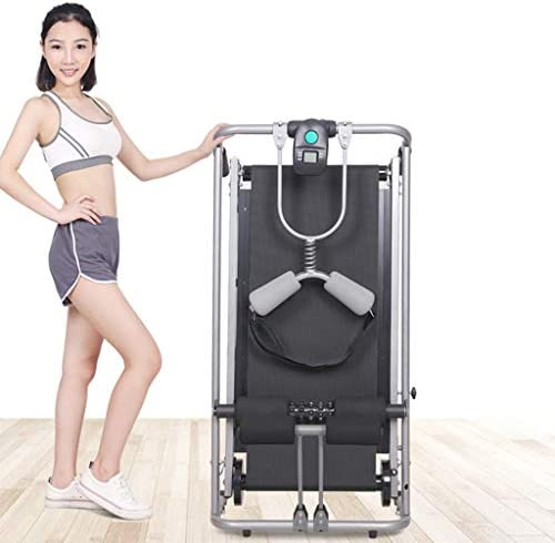 ZANFUN 4-in-1 Foldable Treadmill with Incline for Home Gym Exercise Equipment Portable Small Treadmill for Walking Running Supine Twisting Massage Weight Loss Fitness Treadmills for Small Spaces 4