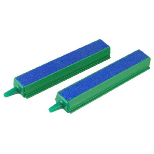 41-vc2MkTwL Jardin Plastic End 2-Piece Air Stone Bars, 4-Inch, Blue/Green