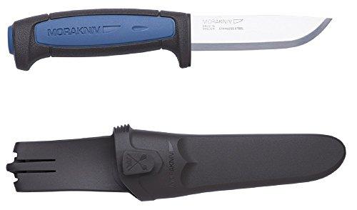 Bundle 2 Items: Morakniv Craft Robust Carbon Steel Knife and Morakniv Craft Pro S Stainless Steel Knife