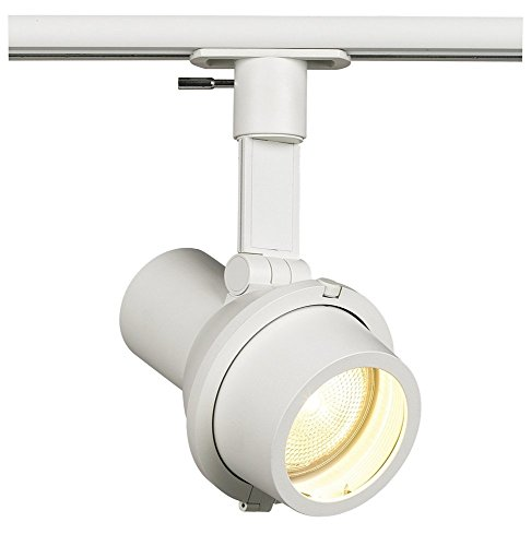 Alcyon PAR20 Enclosed Step Spot Track Light Finish: Matte White