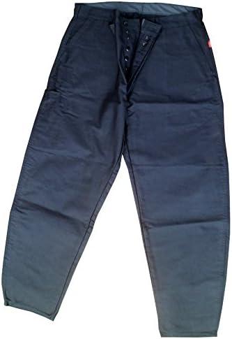 REAL AIGLON Pantalon Moleskine LARGEOT Noir Taille 38 à 50