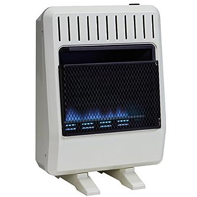 Avenger Dual Fuel Vent Free Blue Flame Heater - 20,000 BTU, Model# FDT20BF