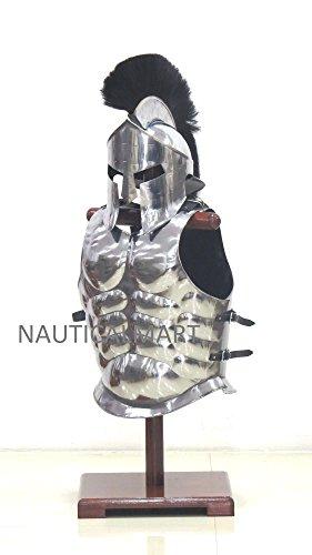 NAUTICALMART Halloween Costume Muscle Armor with 300 Spartan