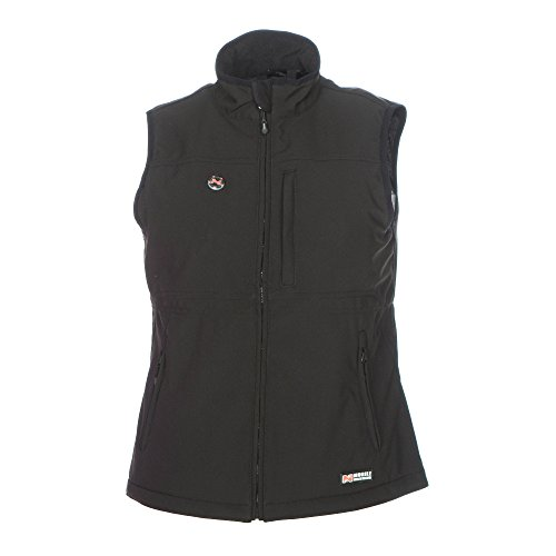 Mobile Warming Women's Heated Whitney Vest - (Black, Large) by Mobile Warming (Image #2)