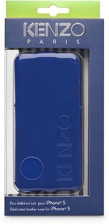 Kenzo KENZOGLOSSYCOXIP5B - Funda para Apple iPhone 5/5s, azul: Amazon.es: Electrónica