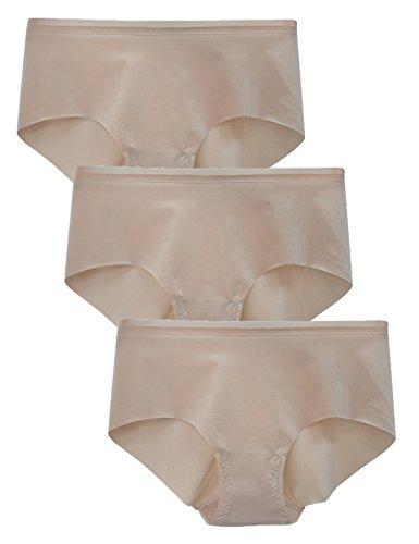 Liqqy - Culottes - para mujer Beige