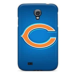 Protector Hard Cell-phone Cases For Samsung Galaxy S4 (RjP605NFdj) Support Personal Customs Colorful Chicago Bears Pattern