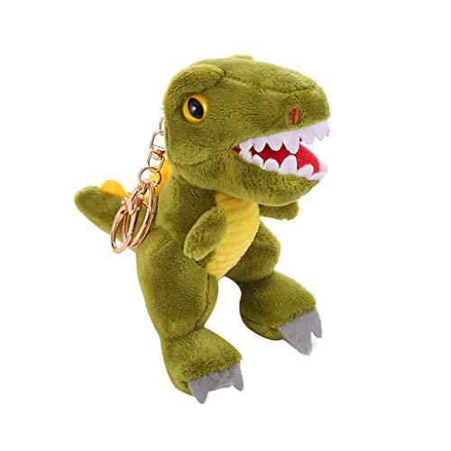 Alelife Cute Plush Toys Dinosaur Soft Stuffed Animals Dolls Kids Birthday Gift New (brown)