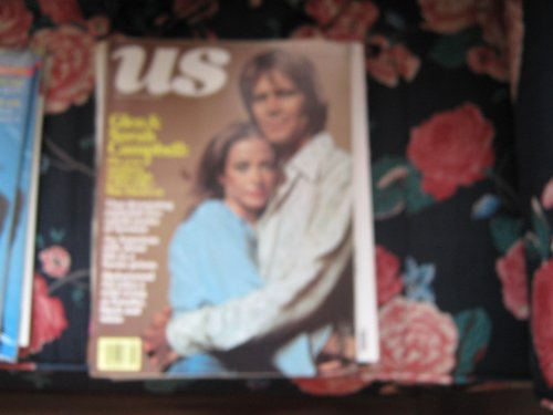 US Magazine (GLEN & SARAH CAMPBELL , Mac davis's Ex, used for sale  Delivered anywhere in USA