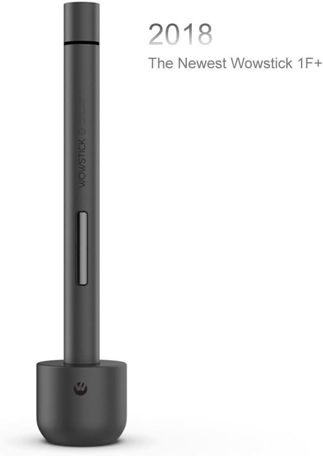 Destornillador de precisión de litio Ruputas Wowstick 1F + con luz LED y alfombrilla magnética, destornillador eléctrico recargable que incluye 56 bits para la mayoría de los dispositivos electrónicos