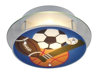 ELK Lighting 21005/2 Novelty 2-Light Sports Semi-Flush