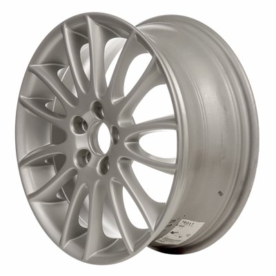 - MAPM - ALLOY WHEEL; 17 X 7; 14 SPOKES; 5 LUG; 108MM BP; ALL PAINTED SILVER - ALY70317U20 FOR 2009-2009 Volvo C30