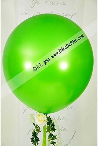 Belbal 1 Balón Gigante 90 cm Verde Manzana Aglaja: Amazon.es: Hogar