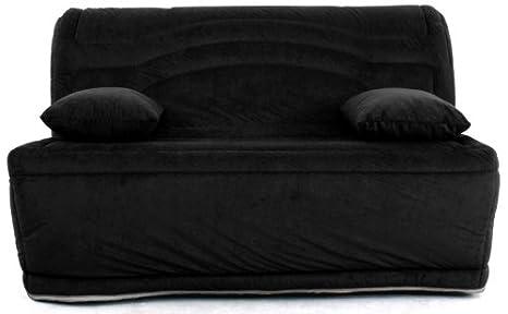 Relaxima Dunlopillo A0210BZ4ZAGN Asiento Corrido-Cama, diseño de acordeón Louna Dunlopillo-Colchón, diseño de ángel, Color Negro: Amazon.es: Hogar