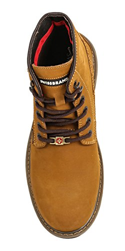 Mens Backpacking Gold Up Swissbrand Hiking top Lace Boot and Hight wn4dHFdpx