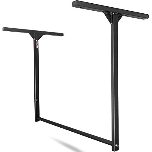 Titan Fitness Large Stud-Mounted Pull-Up Chin-Up Bars Wall or Ceiling Mount WOD by Titan Fitness