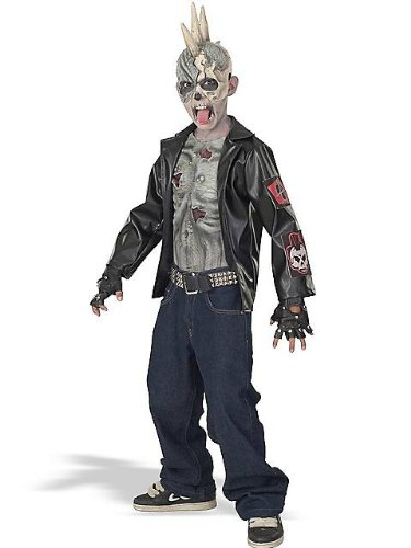 Zombie+Costumes Products : Punk Zombie Kids Costume