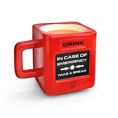 Mustard Coffee Tea Mug Cup - Red Take A Break