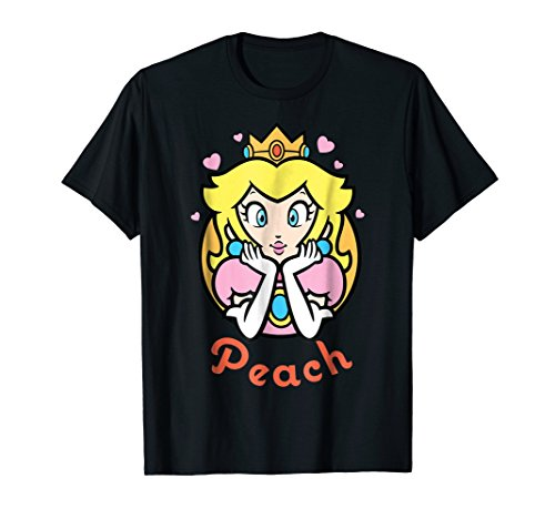 Nintendo Super Mario Princess Peach Portrait Graphic T-Shirt