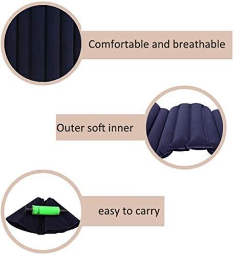 VGZ Quadratisches aufblasbares Anti-Dekubitus-Kissen lindert Schmerzen Kühlung Luft Student Wasserbeutel Eispad Büro Rollstuhl Cool Pads Butt Pad