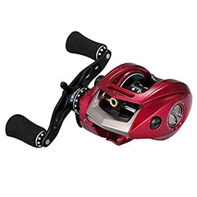 Piscifun Kylin Baitcasting Fishing Reel Magnetic Brake System Saltwater Baitcaster Reels with Aluminum Frame Good for Casting Rod and Braided Mono Fishing Line by Piscifun