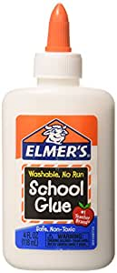 Elmer's Washable School Glue 4 Fl Oz / 118 Ml (Pack of 12)