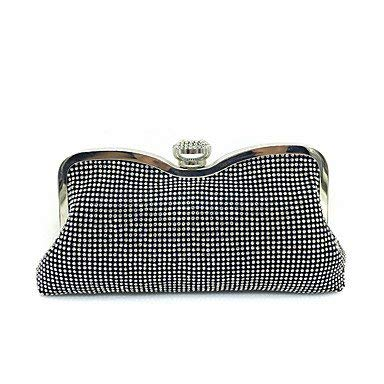 Black Wetietir Clutch Bag Women Elegant HighGrade Luxury Diamonds Evening Bag Dinner Purse (color   Black)