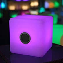 LED Cube Blue Tooth Speakers Color Changing and Portable and Support Remote Control