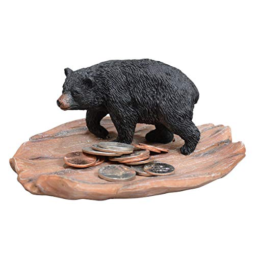 (Black Forest Décor Walking Bear Trinket Dish)