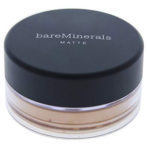 bareMinerals Matte Foundation SPF 15 for Women, Golden Tan, 0.05 Ounce