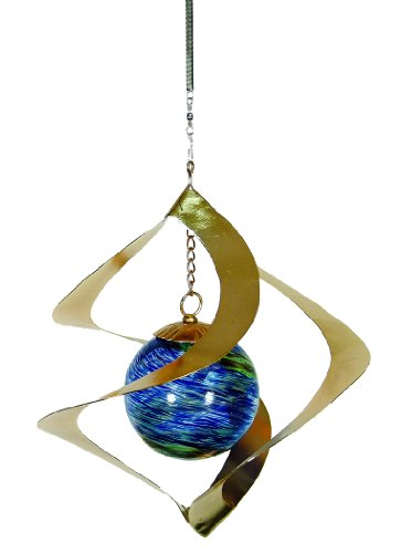 Echo Valley 4247W Illuminarie Hanging Spiral Spinner, 9 by 9 by 10-Inch ()
