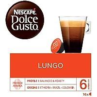 NESCAFÉ Dolce Gusto Café Lungo | Pack de 3 x 16 Cápsulas - Total: 48 Cápsulas de café
