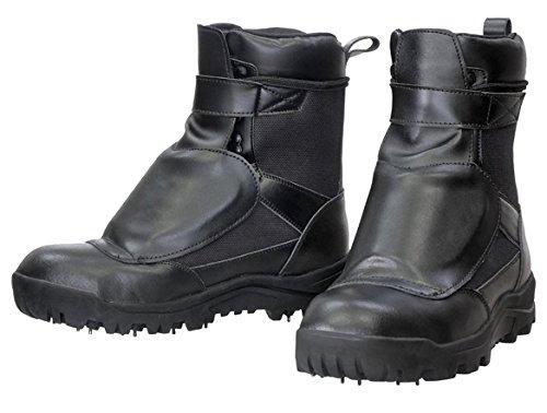 荘快堂 甲ガード付スパイクシューズ RV-202G 黒 編上式半長靴 鋼製先芯 B07BGQYQL9 26.0 cm