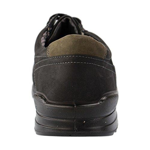 Jomos - Zapatillas de Piel para hombre negro