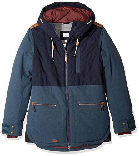 Ride Snowboard Outerwear Women's Marion Jacket, Denim, Medium (Ride Women Snowboard Jacket)