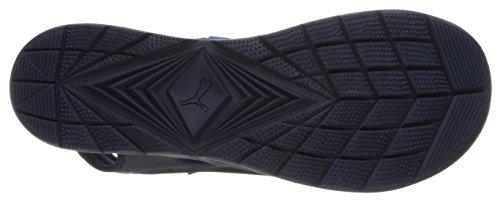 PUMA Herren Wild Plus Athletic Sandale Peacoat-blaue Donau