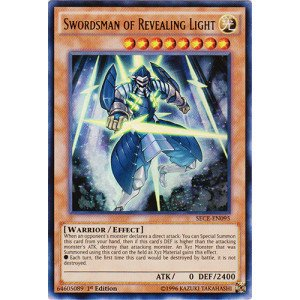 Wall Of Revealing Light Yugioh Espanol : Amazon.com: Yu-Gi-Oh! - Swordsman of Revealing Light (SECE-EN095) - Secrets of Eternity - 1st ...