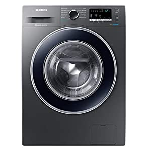 Samsung 8 Kg Inverter 5 star Fully-Automatic Front Loading Washing Machine (WW80J42G0BX/TL, Inox, Hygiene steam)