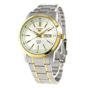 Seiko Mens Watch 5 Automatic Analog Business Automatic SNKM92K1