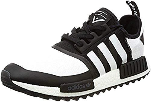 36 2 Stan Zapatillas para Smith 3 Hombre Negro Adidas CF 708Bqx0T