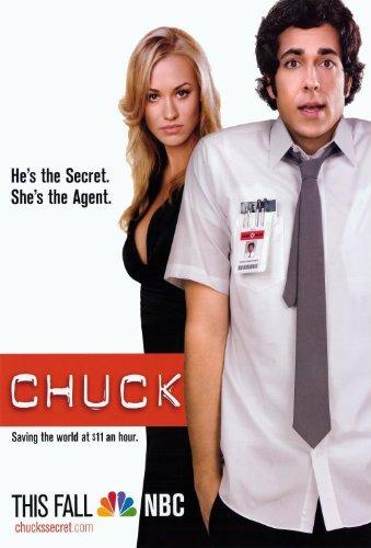 Chuck Poster TV 11 x 17 In - 28cm x 44cm Zachary Levi Vik Sa