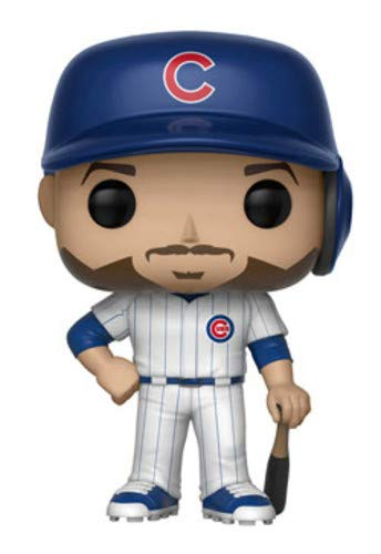 Major League Baseball Kris Bryant Collectible Figure Multicolor 30230 Accessory Toys /& Games Funko POP!