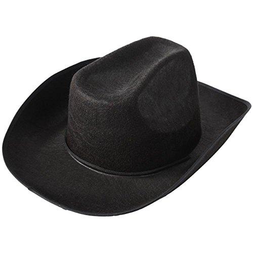 US Toy Cowboy Hat, Black -