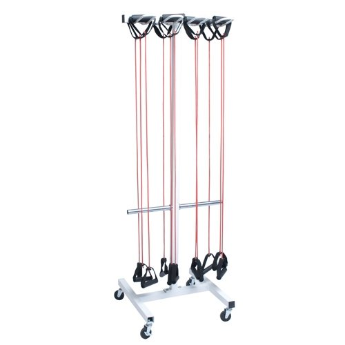 Jump Rope And Resistance Tube Storage Cart by Athletic Connection