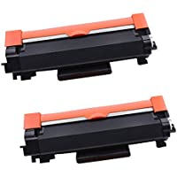 2-Pack Compatible Toner Cartridge Replacement for Brother TN2450 TN-2450 (3,000 Pages) for Brother HL-L2350DW HL-L2375DW…