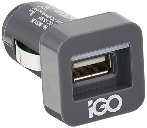iGo MiniJuice Charger for Smartphones - Retail Packaging - Grey (Igo Adapter)