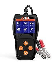 ANCEL BA201 Carro 12 V 100 – 2000 CCA testador de bateria para iniciação automotiva sistema de carregamento alternador de manivela analógico digital ferramenta de teste de células ruins